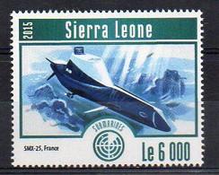 SMX-25, France - Submarine Stamp (Sierra Leone 2015) - MNH (1W2031) - Submarines