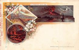 NAPOLI -  IL VESUVIO 1895 - Napoli (Napels)