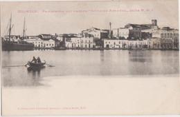 "CPA - ITALIE - PUGLIA - BRINDISI - Panorama Col Vapore ""Principe Amedeo"",, Della N.G.I. - CARTE RARE état Neuf 1900 Env - Brindisi"