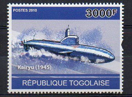 Kairyu 1945 - Submarine Stamp (Togo 2010) - MNH (1W2040) - Submarines
