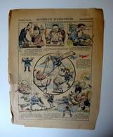 """Image Epinal Pellerin """"Querelle D'aviateurs."""" Illustrateur Zutna -  Publicité Au Dos : Maimain  à Chatellerault - Otros"""