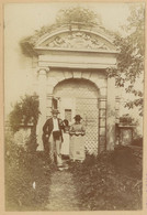 Porte Du Château De Verrey-sous-Drez (Côte D'Or). 1896. Album De L'historien Gérard De Beauregard - Luoghi