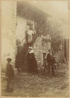Une Vieille Maison De Verrey-sous-Drez (Côte D'Or). 1896. Album De L'historien Gérard De Beauregard - Luoghi