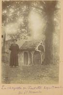 La Chapelle De Fontette (Aube) Dépendant De Saint-Mesmin. 1896. Album De L'historien Gérard De Beauregard. - Antiche (ante 1900)