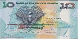 TWN - PAPUA NEW GUINEA 9d - 10 Kina 1997 Prefix NEH - Signatures: Tarata & Mulina UNC - Papua New Guinea