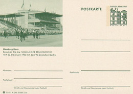 Reitsport Hamburg-Horn / 1965 / Entsprech. Abb. Auf BRD-Bildpostkarte ** (B972) - Horses