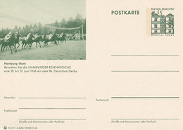 Reitsport Hamburg-Horn / 1965 / Entsprech. Abb. Auf BRD-Bildpostkarte ** (B973) - Horses
