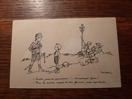 Poulbot F. N° 20, Humour, Enfants, Guerre 14/18. - Poulbot, F.