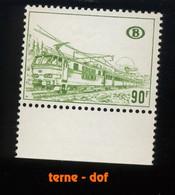 424 **. 90F Locomotive. ZUG. Papier Terne   SANS Charnière. - Railway
