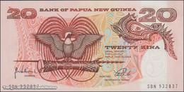 TWN - PAPUA NEW GUINEA 10c - 20 Kina 1998 Prefix SBN - Signatures: Vulupindi & Vele UNC - Papua Nuova Guinea