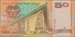 TWN - PAPUA NEW GUINEA 11a - 50 Kina 1989 Prefix HUA - Signatures: ToRobert & Vele UNC - Papua Nuova Guinea