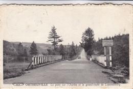 Ortheuville, Le Pont Sur L'Ourthe Et La Grand Route De Luxembourg (pk71123) - Tenneville