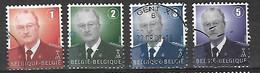 OCB Nr 3695 3696 3697 3698 Dynastie Roi King Koning Albert II MVTM - Belgium