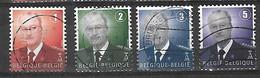 OCB Nr 3695 Tot 3698 Dynastie Roi King Koning Albert II MVTM - Belgium