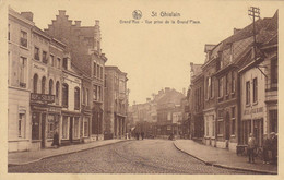 St Ghislain, Grand'rue, Vue Prise De La Grand'Place (pk71127) - Saint-Ghislain