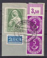 BRD - 1952 - Michel Nr. 151 Briefst. Mit Posthorn - Used Stamps
