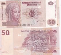 Congo Rep - 50 Francs 2007 UNC Pick 97a Lemberg-Zp - Republik Kongo (Kongo-Brazzaville)
