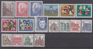 BERLIN Jahrgang 1964 Komplett, Postfrisch **, 233-249 - Unused Stamps