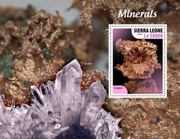 SIERRA LEONE 2020 - Minerals. S/S Official Issue [SRL200523b] - Minerals