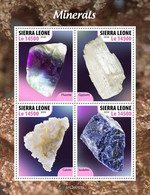 SIERRA LEONE 2020 - Minerals. Official Issue [SRL200523a] - Minerals