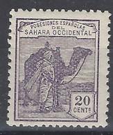 Sahara 004m ** Dromedario 1924. A000,000 - Sahara Spagnolo