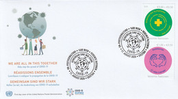 UN WN - 2020 - We Are All In This Together - Covid-19 - FDC - Emisiones Comunes New York/Ginebra/Vienna