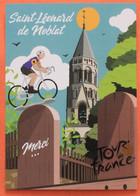 Cyclisme :  Tour De France 2020,  Saint Leonar D De Noblat, Hommage à Poupou - Radsport