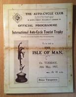 ISLE OF MAN 2007 TT Centenary/Race Re-Enactment: Souvenir Folder UM/MNH - Isla De Man