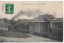 CPA, La Gare Des Tramways D'Yvré-le-Pôlin (Sarthe) - Zonder Classificatie