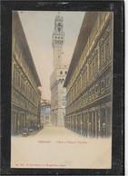 AK 0585  Firenze - Uffizi E Palazzo Vecchio Ca. Um 1900 - Firenze (Florence)