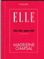 """C 12) Livre Inédit De 48 Pages ELLE """"un été Sans Toi"""" """"Madeleine Chapsal"""" 1997  (Fmt A 6) - Boeken, Tijdschriften, Stripverhalen"""
