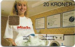 Denmark - Danmønt - Miele - DB018 - 20Kr. Exp. 04.1996, 1.487ex, Used - Dänemark