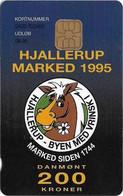 Denmark - Danmønt - Hjallerup Market 1995 - DD049 - 200Kr. Exp. 08.1996, 1.250ex, Used - Dänemark