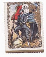 Vignette Militaire Delandre - 27ème Bataillon De Chasseurs à Pied - Military Heritage
