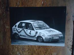 Photo De Presse RALLYE CITROEN VISA MILLE-PISTES Gr. B -  Josef HAIDER / Ferdinand HINTERLEITNER - Cars