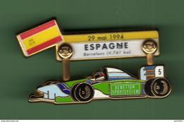 F1 *** ESPAGNE 1994 *** Signe J.F.G. MIAMI *** T9 - Automobilismo - F1