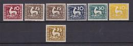 Wuerttemberg - Dienstmarken - 1920 - Michel Nr. 144/149 - Ungebr. - Wurttemberg