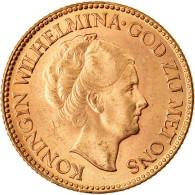 Monnaie, Pays-Bas, Wilhelmina I, 10 Gulden, 1925, Utrecht, SUP, Or, KM:162 - 10 Gulden