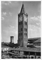 """9732""""FONTANETO PO-L'ANTICO CAMPANILE(MONUMENTO NAZIONALE)""""-VERA FOTO-CARTOLINA SPEDITA 1950 - Vercelli"""