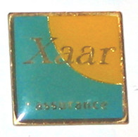 Pin's XAAR ASSURANCES - Banks