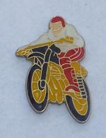 Pin's MOTARD, MOTO CROSS - Motorfietsen