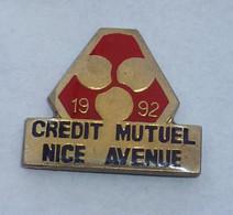 Pin's CREDIT MUTUEL NICE AVENUE - Banks