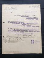 PALERMO LETTERA INTESTATA G. C. HIRZEL STABILIMENTO VINICOLO 1911  VINO UVA - Italy