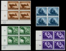 3. REICH 1944 Nr 873-885 Postfrisch VIERERBLOCK X780366 - Nuovi