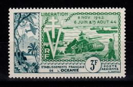 Oceanie - YV PA 31 N* (infime Trace) Liberation Cote 9 Euros - Aéreo