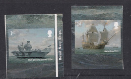 2019 Royl Navy Ships - Unused Stamps