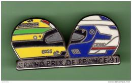 F1 *** GRAND PRIX DE FRANCE 91 *** T9 - Automobile - F1