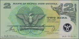TWN - PAPUA NEW GUINEA 16b - 2 Kina 1997 Polymer - Prefix ALN - Signatures: Tarata & Mulina UNC - Papua Nuova Guinea