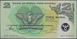 TWN - PAPUA NEW GUINEA 16b - 2 Kina 1997 Polymer - Prefix ALP - Signatures: Tarata & Mulina UNC - Papua Nuova Guinea