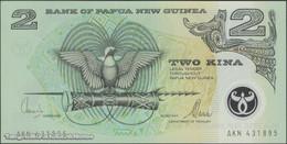 TWN - PAPUA NEW GUINEA 16c - 2 Kina 2000 Polymer - Prefix AKN - Signatures: Tarata & Mulina UNC - Papua Nuova Guinea